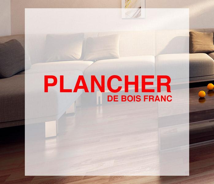 Plancher Sélect Plancher bois franc