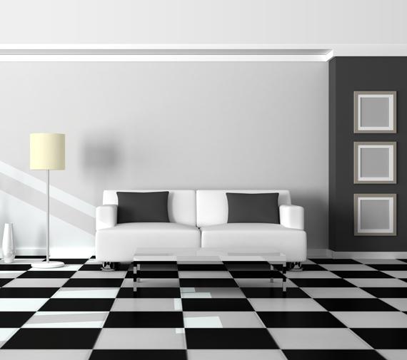Plancher Sélect plancher de céramiques décoratives